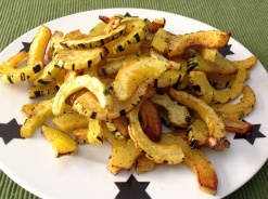 Roasted delicate squash