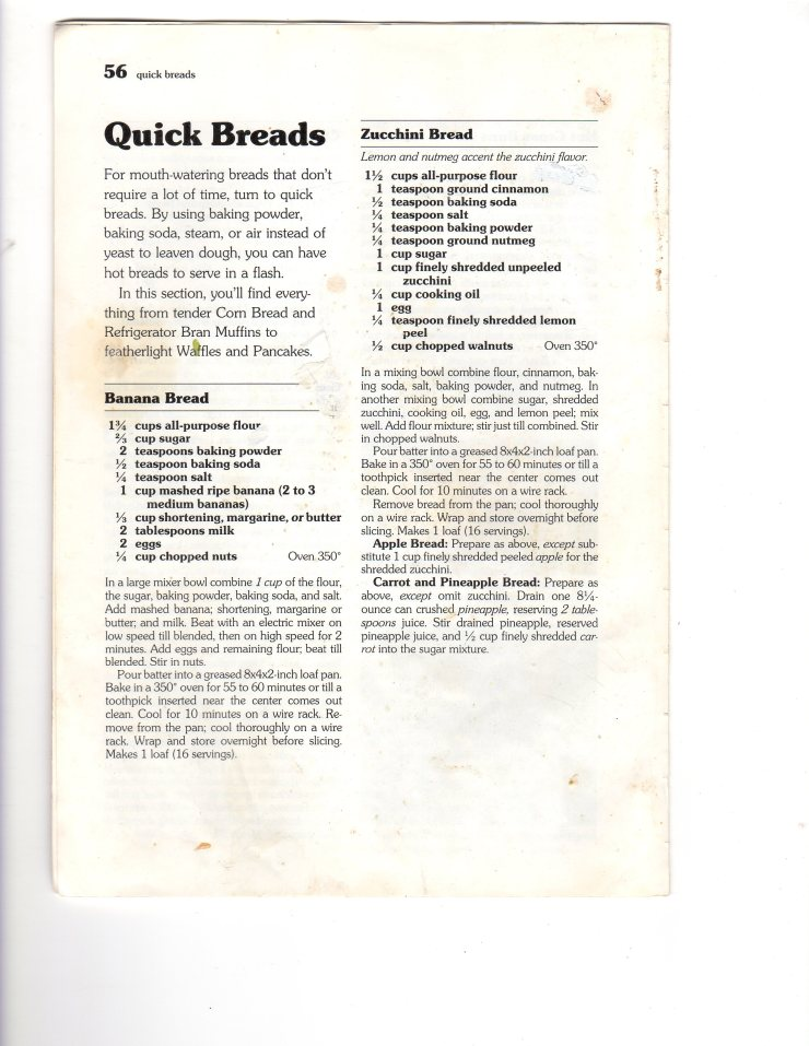 Zucchini Bread020