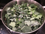 add chopped kale