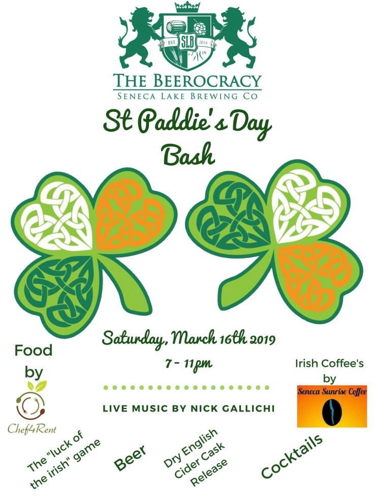 SLB St Paddy day bash