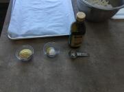 seasonings prepped